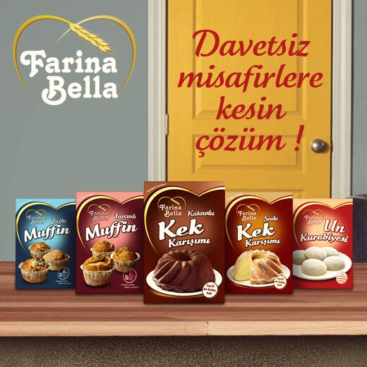 Farina Bella Muffin, Kurabiye ve Kek Karışımları