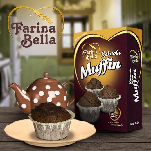 Farina Bella Muffin www.helalsitesi.com' da
